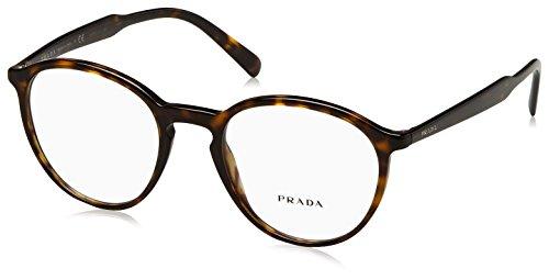 Prada - PRADA PR 13TV, Rund, Acetat, Herrenbrillen, HAVANA(2AU1O1), 51/20/145