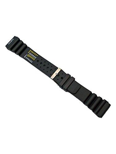 Uhrenarmband Passend Citizen Promaster Kautschuk Schwarz 18-20-22-24mm Armband 24mm - Uhrenarmband Silikon 23mm