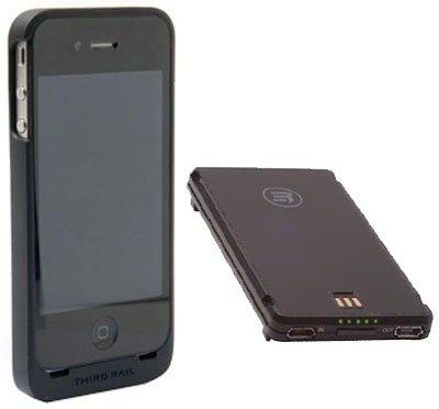 Third Rail Slim Schutzhülle und Smart Batterie Combo Pack für Apple iPhone 4 / 4S