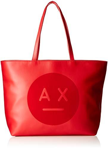 ARMANI EXCHANGE Ax Face Logo Tote Bag - Borse Donn...