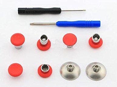 gotor® Magic Button Thumbstick Mod Sticks Kit Thumb Caps pulsante SET per XBOX One Elite controller (2#) - Abxy Pulsanti
