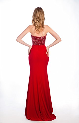 Bridal_Mall - Robe de mariage - Mermaid - Femme Rouge