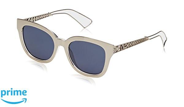Christian Dior Damen Sonnenbrille DIORAMA1 KU Sbg, Gold (Lt Gold Cry/Bluette Avio), 52