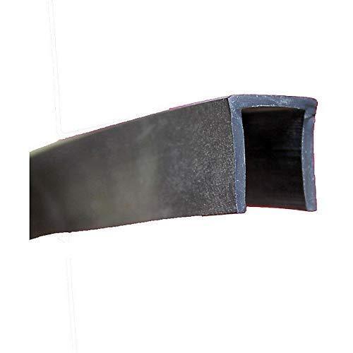 EUTRAS Kantenschutz KSO4006 Blanco Protector de bordes 3/m dimensi/ón del hueco 2,0/mm 2214 refuerzo con protecci/ón negro