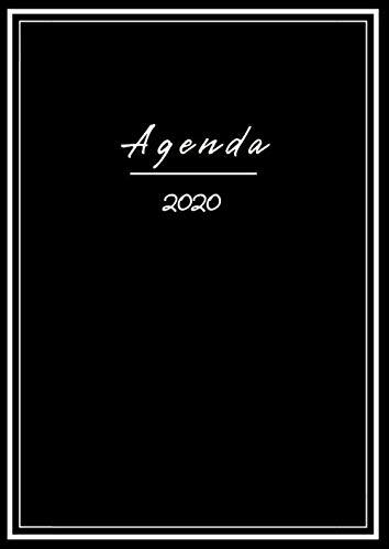 Agenda 2020 español: organizador y planificador 2020 | Del 1 de enero de 2020 al 31 de diciembre de 2020 | Diario, con vista semanal | XXL 21x29,7 cm A4, sencilla Mujer