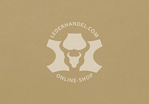 Lederhandel.com Anilinleder beige - Luxury Muschel (1,8-2,0 mm)