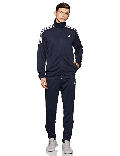adidas Team Sports, Tuta Uomo, Blu (Legend Ink White), L