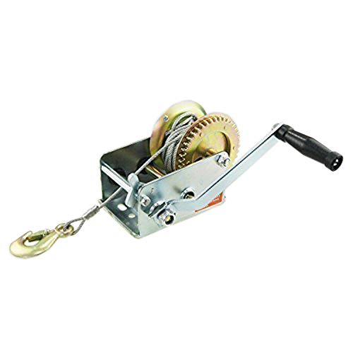 Correa de alambre con manivela manual para coche, barco, remolque, moto acuática...