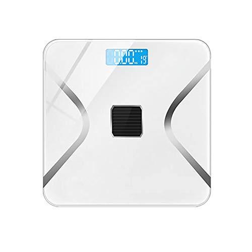 ZUEN Körperfettwaage Menschlicher Körper Elektronische Waage Waage Monitor Gesundheit Genaues Zuhause Smart Charging Body Fat