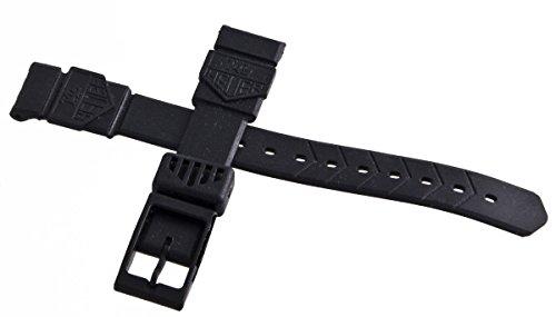 Tag Heuer formula 1gomma nera cinturino dell' orologio 15mm