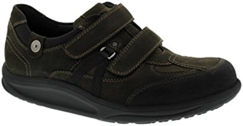 Waldläufer - Zapatos de cordones de cuero nobuck para hombre