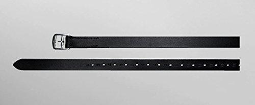 Passier Steigbügelriemen, Ledersteigbügelriemen, 2.5cm breit Länge 130cm, Farbe havanna