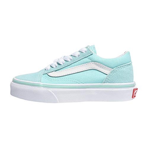 Vans Kids Old Skool Classic Schuh 2019 Blue Tint/True White, 30