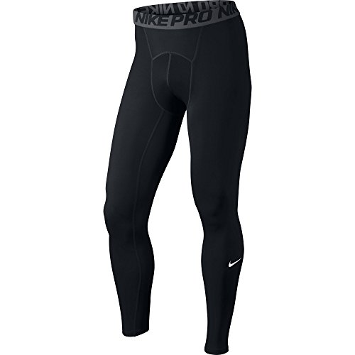 Nike Cool Tight - Mallas para hombre, Negro (Black/Dark Grey/White), XL