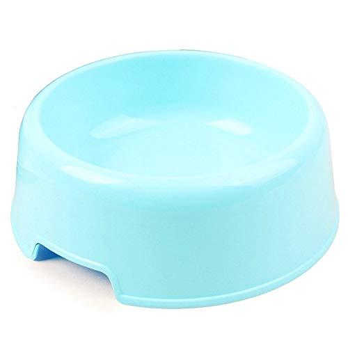 Liter Quellwasser (JKRTR Erschwinglich Haustier Cat Puppy Plastic Futternapf(Hellblau,13.5x10.5x4.8cm))