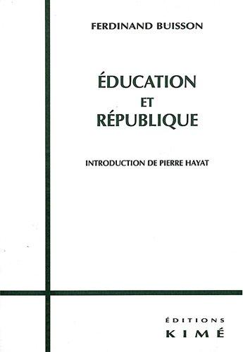 Education et Rpublique