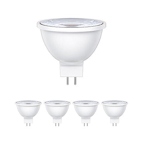 ledscom.de GU5.3 LED Spot MR16 5W =33W 300lm 30° warm-weiß, 5 Stk.