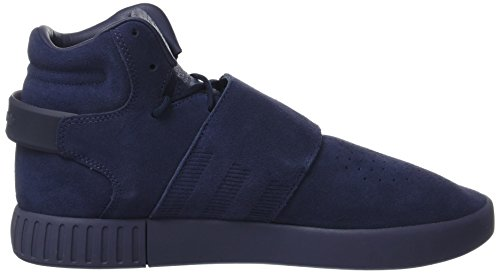 adidas Herren Tubular Invader Strap Hohe Sneaker Blau (Trace Blue/trace Blue/footwear White)