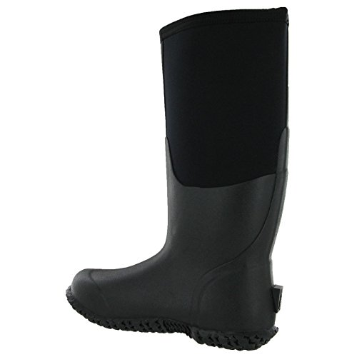 Bogs Womens Carver Tall Rubber Boots Black