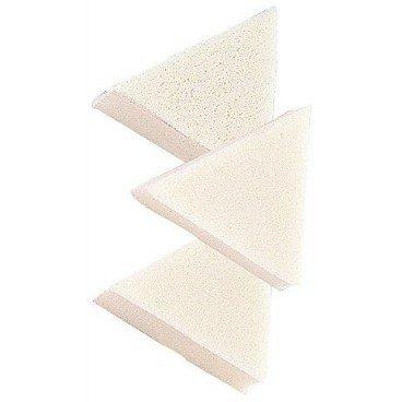 éponge triangulaire latex x50