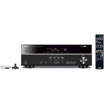 Yamaha RX-V377 AV-Receiver (5.1-Kanal, 100 Watt pro Kanal, HDMI, USB, Dolby TrueHD) schwarz