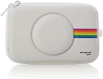 Polaroid PLSNAPEVAW Protectora Color blanco - Funda (Protectora, Polaroid, Color blanco, Sentido, Resistente al polvo, Resistente a rayones, Resistente a golpes, Niño/niña)