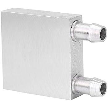 Wasserkühler Antriebsrad für Wasserpumpe Alu silber Kart 40 50 mm Kühler