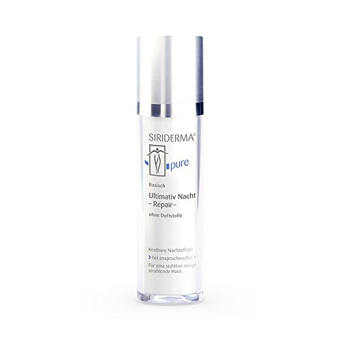 Siriderma Ultimativ Nacht Repair ohne Duft 50 ml - Basische Nachtcreme, Feuchtigkeitscreme, mit...