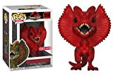 Desconocido Funko Pop! Movies: Jurassic Park - Dilophosaurus (Limited Red Edition) #550