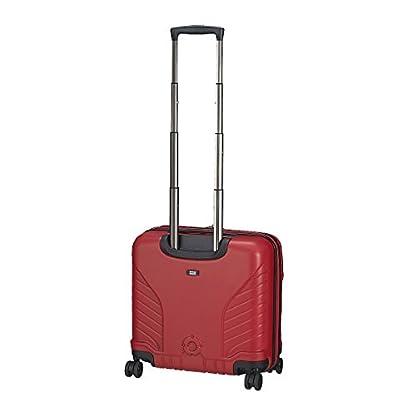 31Kpqw8SNeL. SS416  - Hedgren HFO06W / 779-01 Fórmula Uno maleta, 42 cm, 38 litros, Negro / combo Red