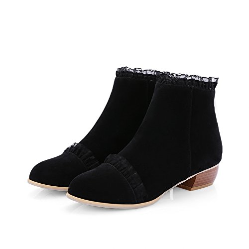 BalaMasa Abl10352, Sandales Compensées femme Noir