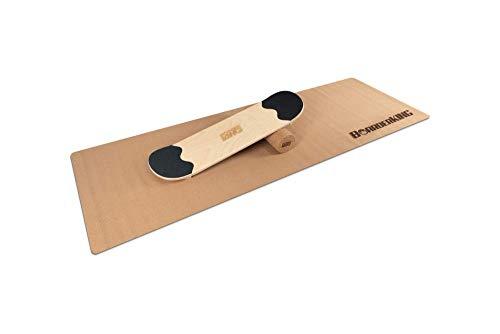 Skate - Indoorboard Skateboard Surfboard Trickboard Balanceboard Balance Board (100 mm (Kork))