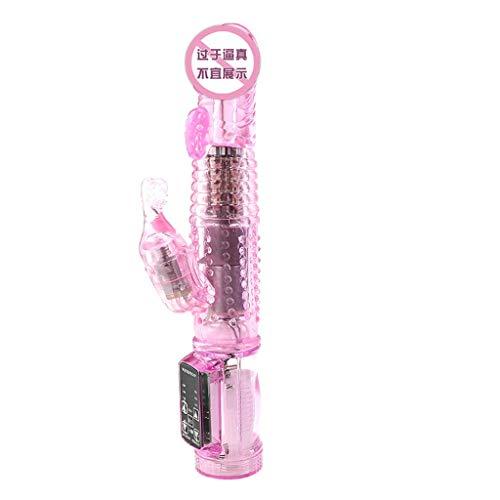 ZBZYXA 100% wasserdicht 10 Frequenz Vibration weibliche Ausrüstung Vibrationsstab rosa Wunder transparente Meerjungfrau drehen Bead Stick T - Shirts, Hosen -