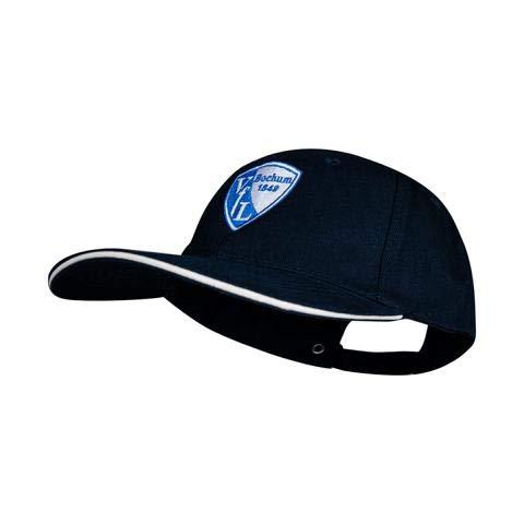 VfL Bochum 1848 Baseball-Cap Logo schwarz mit verstellbarem Metall-Verschluss Fan-Artikel Stadion -