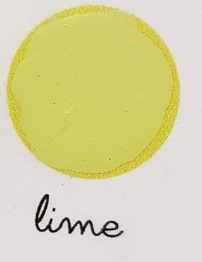 Lavagna Paint Mille colori - Pittura effetto lavagna con Gessetti - Colore Lime - Adatto per tutte le superfici! - da 500 ml - Confezione per 3,5 MQ in 2 mani!