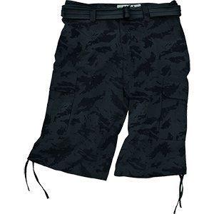 Commando Army Shorts mit Gürtel Bermudas kurze Hose Sommerhose Bermudashorts ()