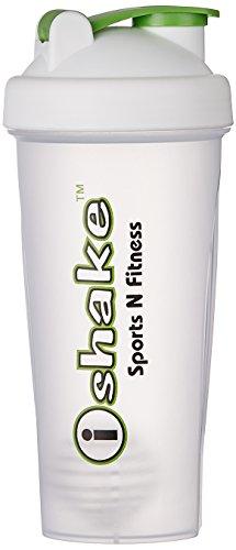 IShake Plastic Shaker Bottle (Translucent)  available at amazon for Rs.175