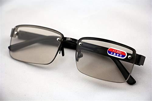 KOMNY DonghaiNatural Crystal Gläser perforiertes Glas Anti-Müdigkeit High-Definition-Coole Sehkraft Männer und Frauen Gesundheit Presbyopie Gläser Tee Kristall, A + 350