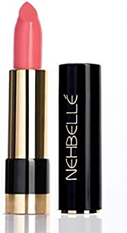 Nehbelle Lipstick Gold Collection 015 Baby Girl, Light Pink Bubble Gum Shade, 0.14 Ounce (4.2 g)