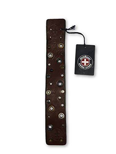 Strellson Swiss Cross bracelet in brown