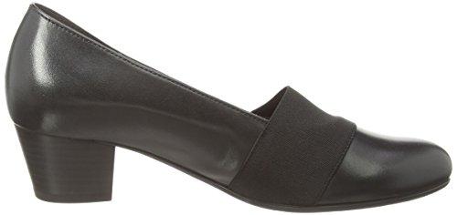 Gabor - Sovereign, Scarpe col tacco Donna Nero (Nero (Black Leather))