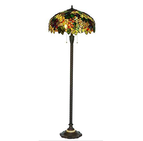 QXX Lámpara de pie Lámpara de Estilo Americano para Sala de Estar...
