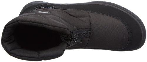 Manitu - POLARTEX 990414, Stivali da neve donna Nero (Schwarz (schwarz 1))