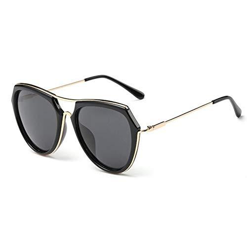 ATR Mode Retro polarisierte Licht Sonnenbrille rundes Gesicht Big Box Fahrer Spiegel kann mit Myopie ausgestattet Werden