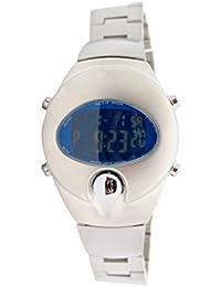 Cuchara by Pulsar LCD Alarma cronógrafo Retro reloj de pulsera PWL 009