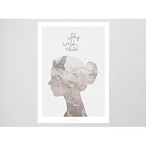 Kunstdruck Poster / Wild Child No. 1