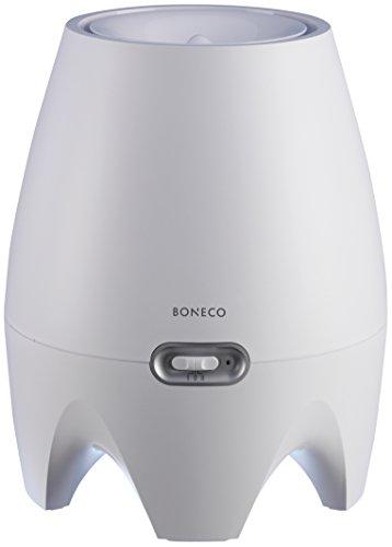 Boneco E2441A - Humidificador y difusor ultra-silencioso antibacteriano, 220 g/h, 20 W, 40 m², color blanco