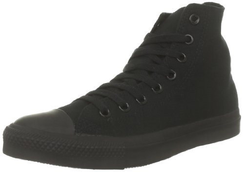 Converse All Star Hi Canvas Sneaker, Unisex Adulto, Nero (Black Monochrome), 41.5