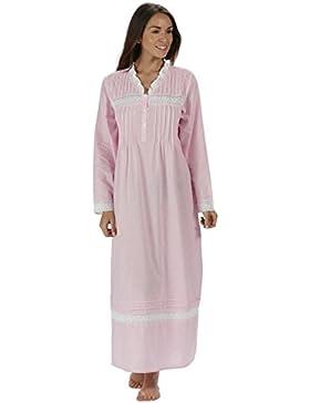 perThe 1 for U 100% cotone camicia da notte - Annabelle S- XXXXL - Farfalla rosa, 4X-Large