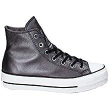 scarpe da ginnastica converse in pelle